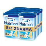 6 x NUTRILON 4 Vanilla batolecí mléko 800 g, 24+