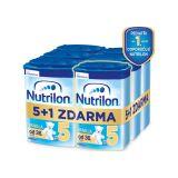 5+1 NUTRILON 5 ProNutra s příchutí vanilky (800g) - kojenecké mléko