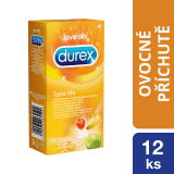 DUREX Taste Me kondomy (12 ks)