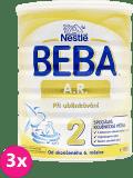 3x BEBA A.R. 2 (800 g) - dojčenské mlieko