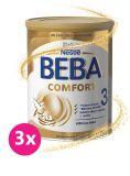 3x BEBA COMFORT 3 (800 g) - kojenecké mléko
