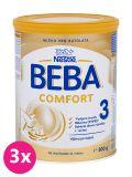 3x BEBA Comfort 3 (800 g) – kojenecké mléko