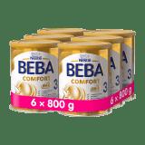 6x BEBA COMFORT 3 (800 g) - kojenecké mléko