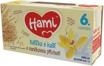 HAMI Mlíčko s kaší s příchutí vanilky (2x250 ml)