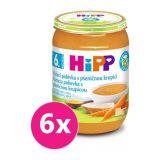 6x HiPP BIO Kuřecí polévka s pšeničnou krupicí (190 g)