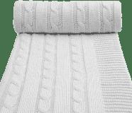 T-TOMI Pletená deka, šedá