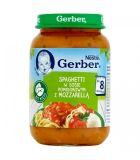 GERBER Spaghetti w sosie pomidorowym z mozzarellą (190 g) – obiadek