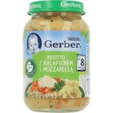 GERBER Risotto z kalafiorem i mozzarellą (190 g) – obiadek
