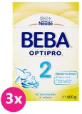3x BEBA OPTIPRO 2 (600 g) - kojenecké mléko