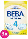 3x BEBA OPTIPRO 4 (600 g) - kojenecké mléko