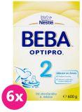 6x BEBA OPTIPRO 2 (600 g) - kojenecké mléko