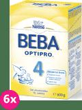 6x NESTLÉ BEBA 4 OPTIPRO (600 g) - kojenecké mléko