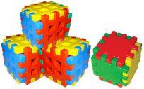 WIKY Zestaw klocków 24 elementów – plastikowy