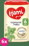 6x HAMI 6+ (800 g) - kojenecké mléko