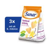 3x SUNAR Vanilkové sušenky (175 g)