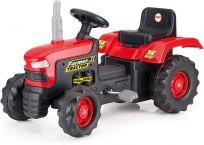DOLU Duży traktor na pedały – czerwony