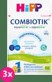 3x HIPP 1 BIO Combiotik (600g) - Mleko początkowe