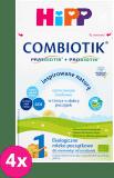 4x HIPP 1 BIO Combiotik (600g) -  Mleko początkowe