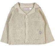 BOBOLI Společenské sako, vel. 80 cm - béžová, kluk