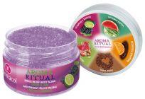 DERMACOL Aroma Ritual - Antistresový tělový peeling hrozny s limetkou, 200 g