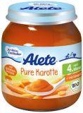 ALETE BIO Mrkev 125 g – zeleninový příkrm