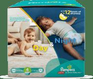 PAMPERS Day&Night Box 4 MAXI 140 ks (9 - 14 kg) - jednorazové plienky
