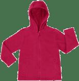 BOLEY Mikina s kapucou BASIC LINE, vel. 86- tmavě růžová, Unisex