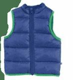 JACKY Zimní vesta OUTDOOR, vel. 98- tmavě modrá, Kluci