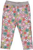BOBOLI Legíny, kalhoty kytka, vel. 98 - růžová/potisk, holka