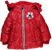 BOBOLI Zimní bunda, vel. 74 - červená, holka