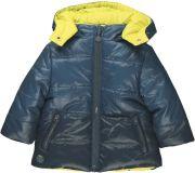 BOBOLI Oboustranná zimní bunda, vel. 92 - modrá, kluk