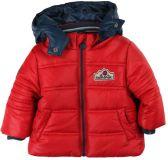 BOBOLI Zimní bunda s kapucou, vel. 74 - červená, kluk