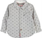 BOBOLI Společenská košile, vel. 74 - modrá, kluk