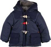 BOBOLI Zimní bunda parka, vel. 74 - modrá, kluk