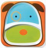 SKIP HOP Talerz Zoo Pies
