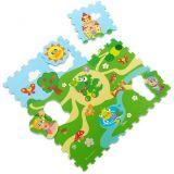 CHICCO Puzzle pěnové Hrad 30x30 cm 9 ks