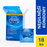 DUREX Extra Safe 18 ks - lubrikované kondomy