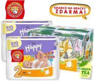 BELLA HAPPY Mini 2 Big TOY BOX (3-6 kg) 156 ks - jednorazové plienky