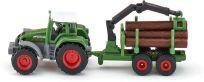 SIKU Blister 1645 - Traktor s přívěsem na kulatinu