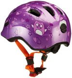 FIRST BIKE Helma ABUS SMILEY 2, Purple S (45-50cm)