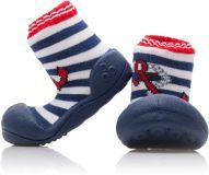 ATTIPAS Chlapecké botičky Marine, vel. M - červená