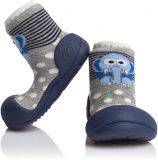 ATTIPAS Unisex topánočky ZOO, veľ. L - modrá