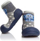 ATTIPAS Unisex topánočky ZOO, veľ. XL - modrá