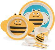 ZOPA Bambusová súprava riadu, Bee