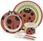 ZOPA Bambusová sada nádobí, Ladybird