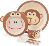 ZOPA Bambusová súprava riadu, Monkey