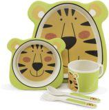 ZOPA Bambusová súprava riadu, Tiger