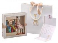 VULLI Moja prvá darčeková súprava žirafa Sophie + hrkálka