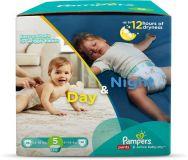 PAMPERS Day&Night Box 5 MEGA 124 szt. (12 – 18 kg) – pieluchy jednorazowe