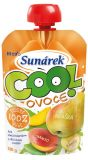 SUNÁREK Cool ovocie Hruška-Banán-Mango (120 g) – ovocný príkrm